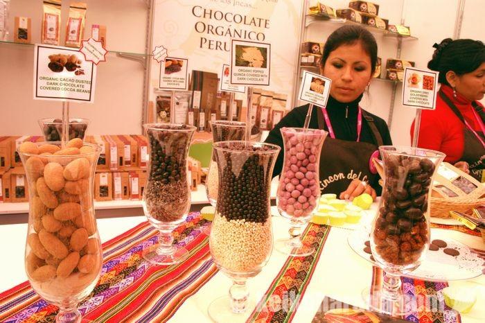 ペルー産カカオを使ったチョコレート