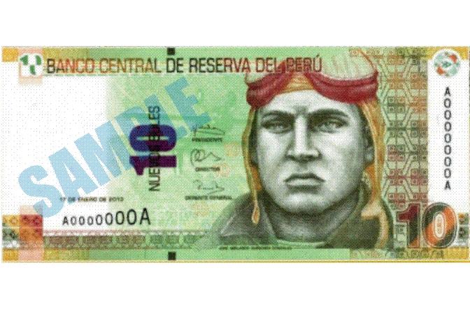 新10ソーレス紙幣