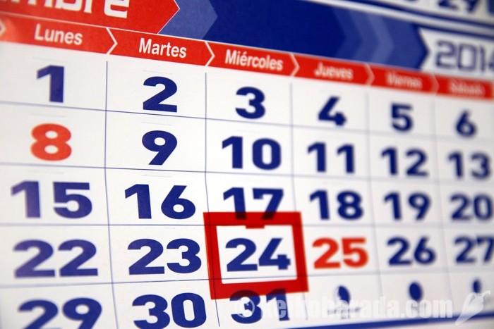 ペルーのカレンダー