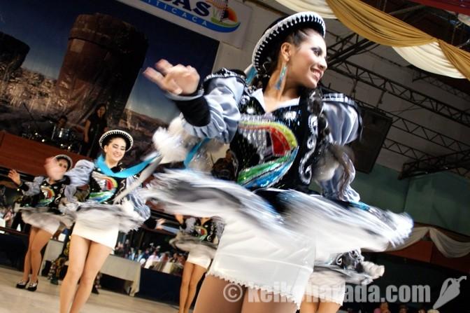 アンデス高地の伝統舞踊