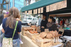 エコマーケットのパン屋さん