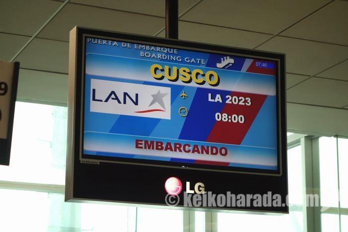 LAN フライトインフォメーション
