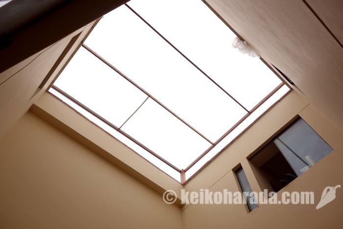 アパートの屋根