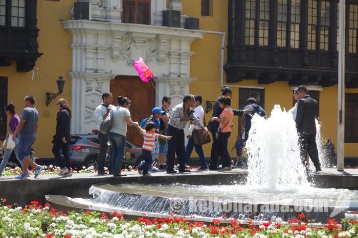 リマの中央広場