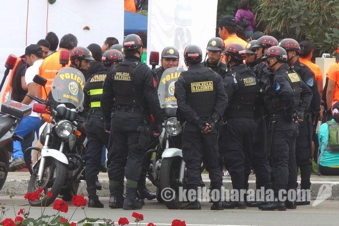 警察によるストライキ