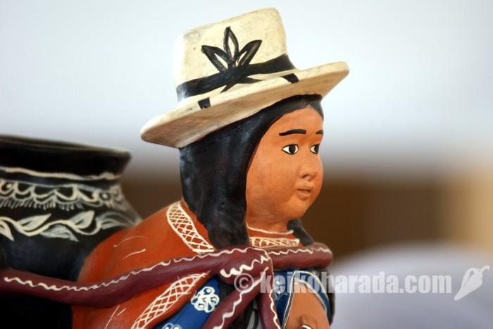 ペルーの陶器