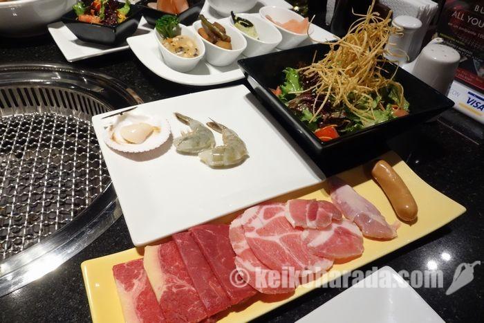 焼き肉レストラン「ガンベイ」