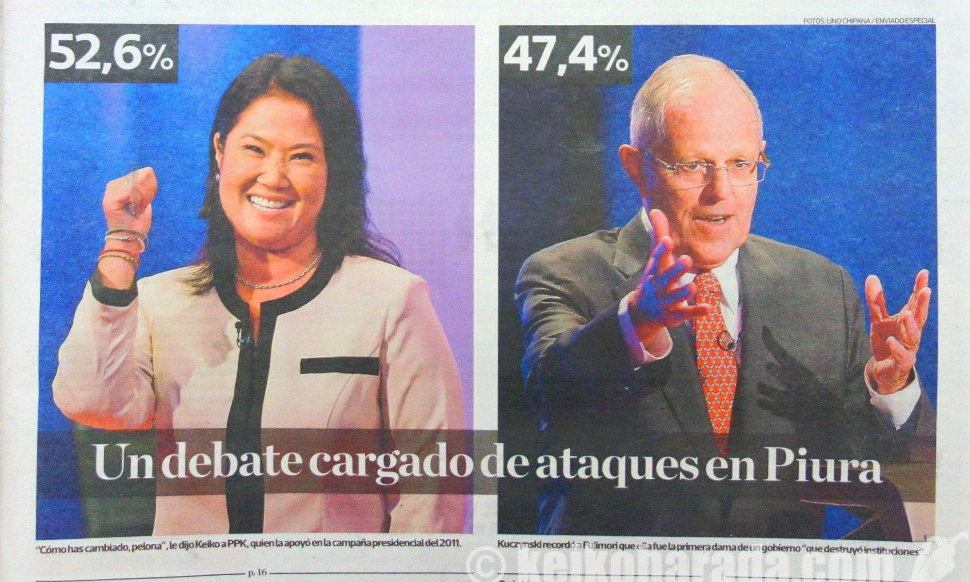 2016年5月22日大統領選挙討論会@Piura