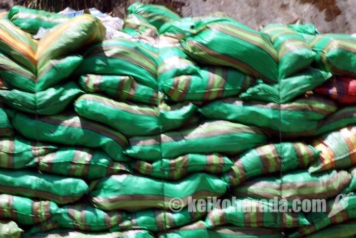マチュピチュ村のゴミ