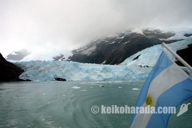 パタゴニアの氷河
