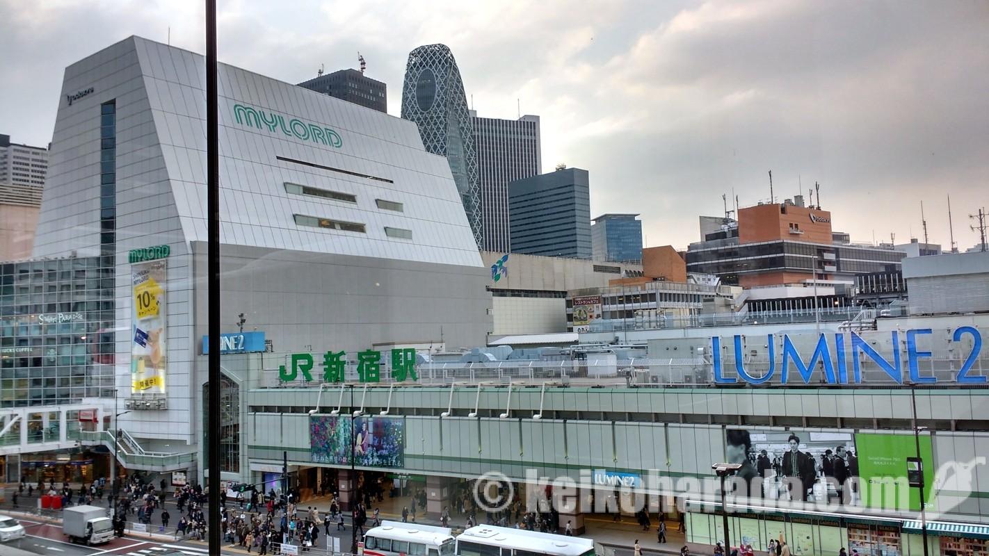 JR新宿駅南口
