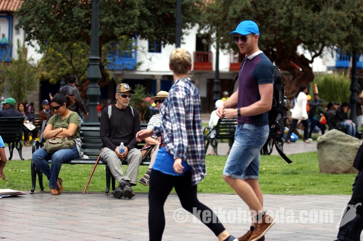 外国人観光客