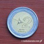 旧2ソレス硬貨