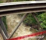 ウルバンバ川の橋