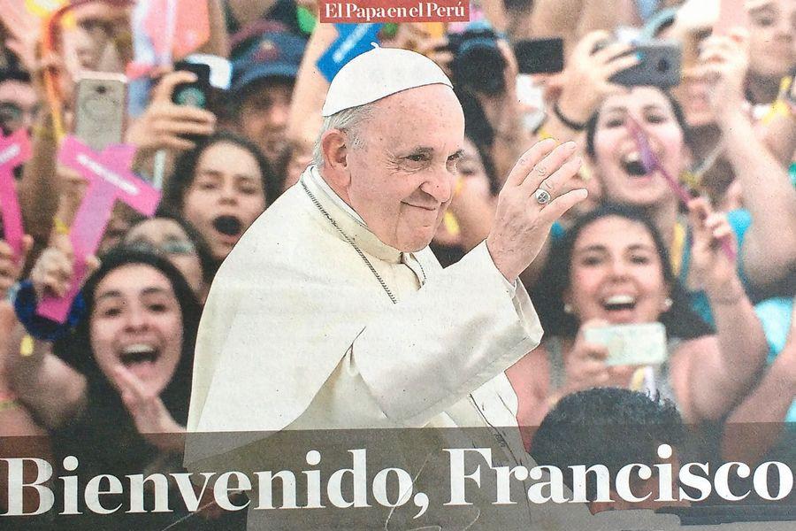 ローマ教皇来秘