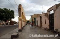 大地震後のイカ市街