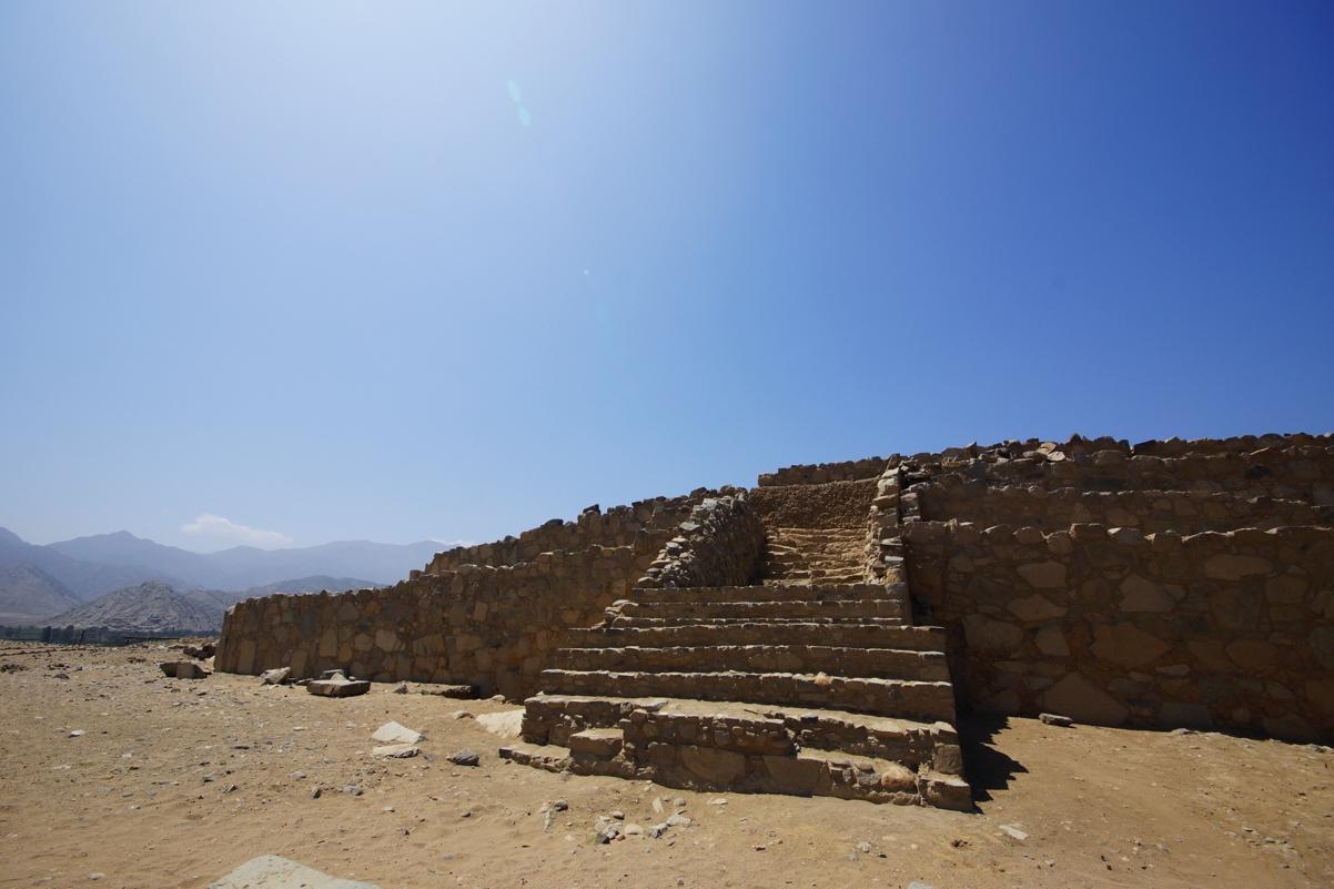 世界遺産 カラル遺跡