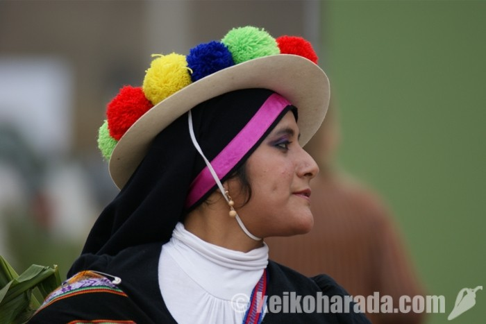 ペルー人女性