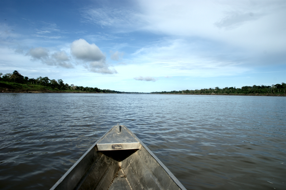 イキトスのアマゾン河