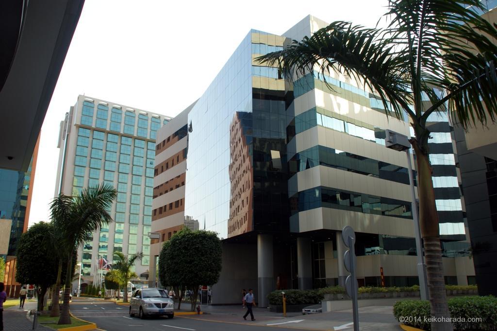 リマのオフィス街