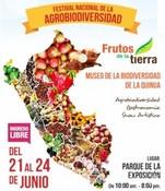 """Festival Nacional de la Agrobiodiversidad """"Frutos de la Tierra"""""""