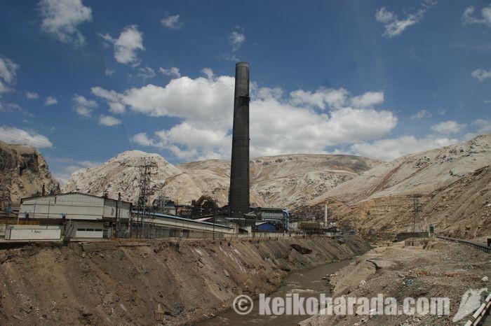 オロヤの鉱山