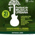 1er Festival de Música Urbana