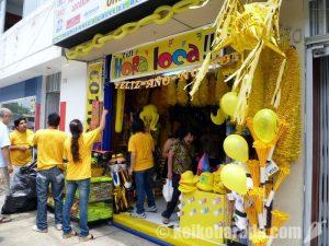 ペルー 幸せの黄色いグッズ