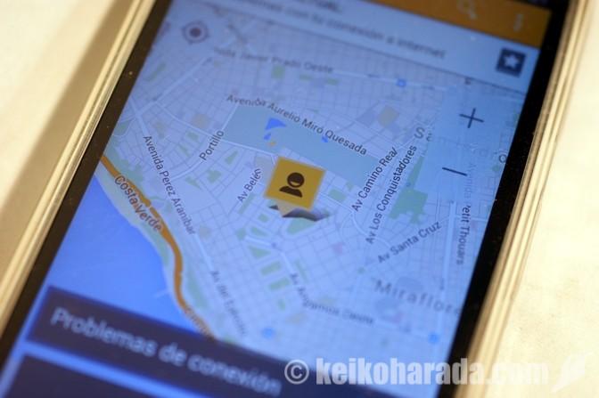 タクシー迎車アプリ