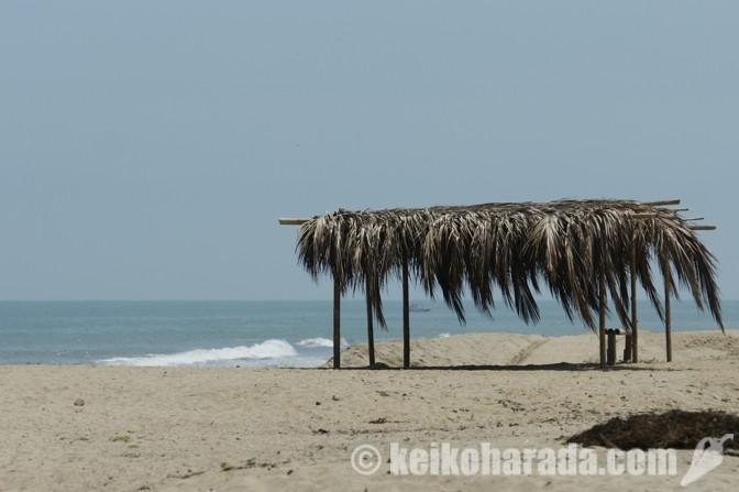 ペルーのビーチ