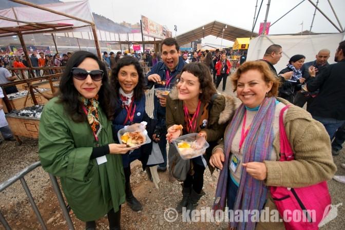 ペルーの外国人観光客