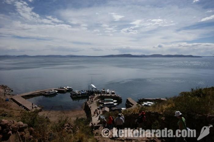 タキーレ島の港