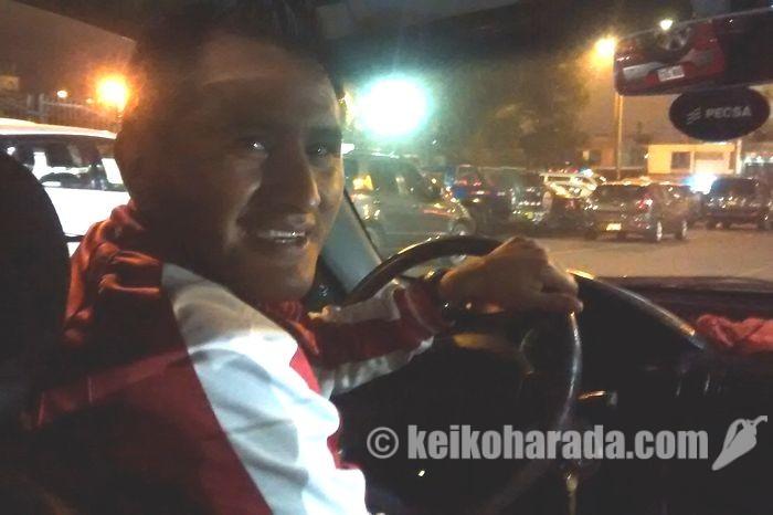 タクシー運転手ジョニー