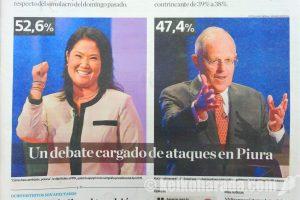 泥棒の子は・・・ペルー大統領選挙