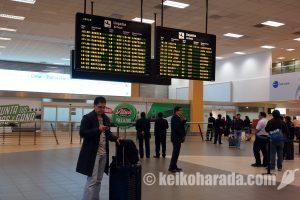 1月~4月期国際線旅客数6.8%増