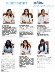 CDERMAのドクターたち