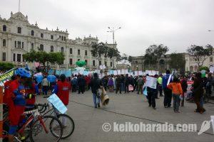 11月25日 リマセントロで対女性暴力撤廃デモ予定