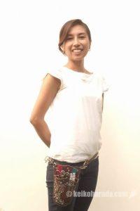 美容師の佐々木麻里子さん