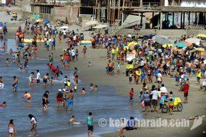 ペルー沿岸部の熱波、4月まで続く可能性も