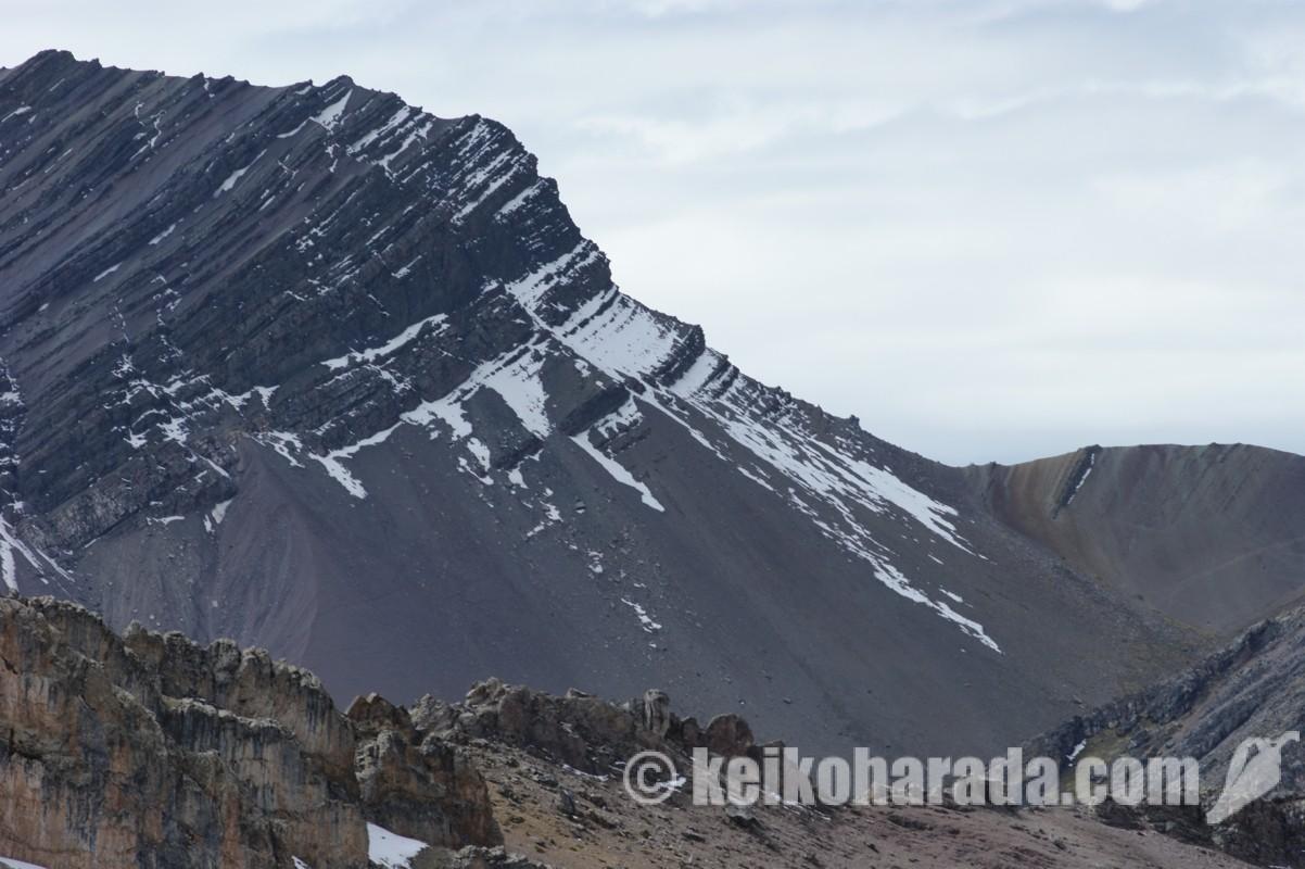 ペルーの氷河