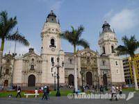 南米最古の大聖堂 リマのカテドラル
