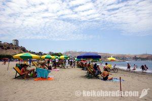 チョリージョスのビーチ