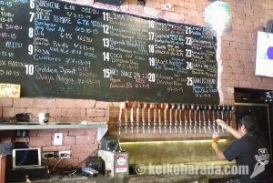 リマのクラフトビール専門店「バルバリアン」