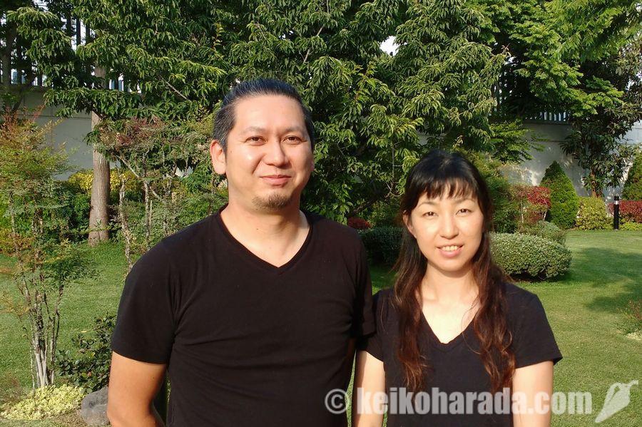 野口修平さん、奈美さん