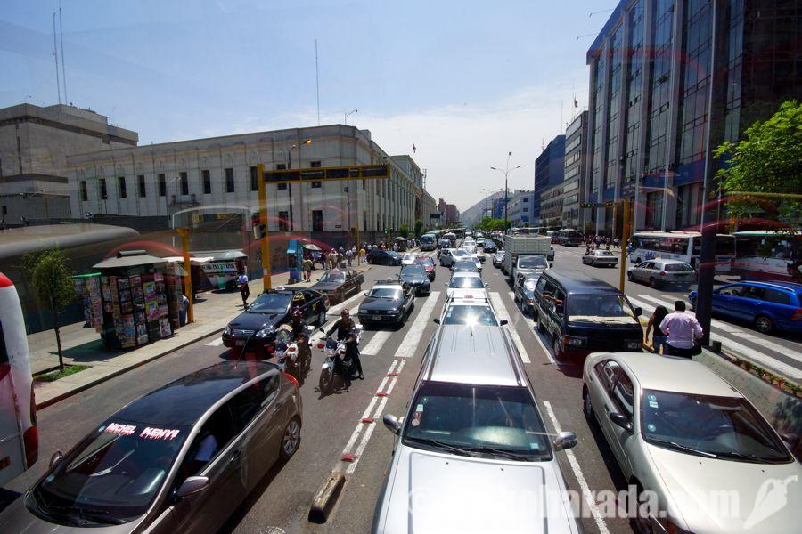 リマの渋滞