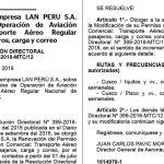 LANペルー航空、クスコ⇔イキトス・ピスコ直行便運航許可取得