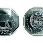 希少野生動物シリーズ1ソル硬貨第4弾はアンデスバク