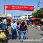 エクアドルとの国境、ペルーのアグアス・ベルデス散策