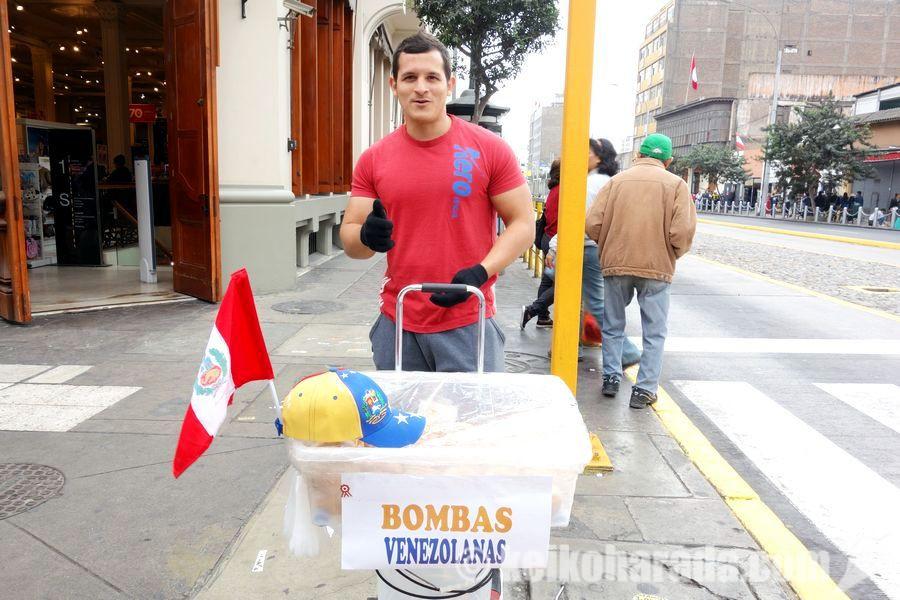 ペルーのベネズエラ人