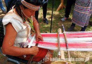 ペルーアマソン伝統織物